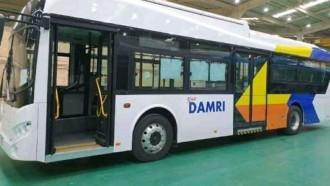 Bus Listrik Datang, Damri Mulai Siapkan Operasional