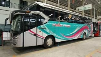 Baru Keluar Karoseri Bus Rimba Raya Sudah Masuk Bengkel Lagi, Kenapa?