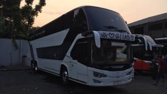 Karoseri Tentrem Siap Pamerkan Bus Mewah Double Decker Pertama Buatannya di GIIAS 2019