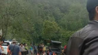 Bus Sriwijaya Masuk Jurang di Pagar Alam, Puluhan Tewas, Belasan Luka