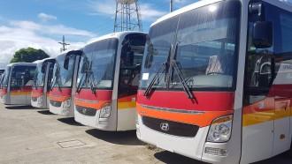 Sejumlah 50 Unit Bus Baru Hyundai Universe Bersuspensi Udara Dikapalkan Ke Filipina