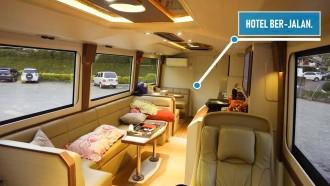Griya Mlampah, Bus Caravan Mewah Punya PO Haryanto