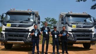 Volvo Sudah Sematkan Teknologi Dynamic Steering di Truk Rigid dan Prime Mover yang Dioperasikan di Kalimantan