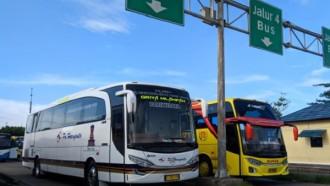 Bus AKAP Mulai Bergerak, Tekan Transportasi Ilegal