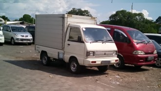 Suzuki Carry 1000, Si Legenda Pikap Bermesin Seliter