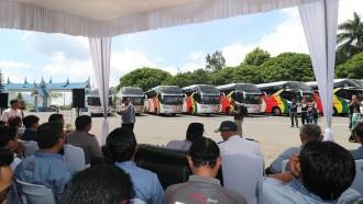 PO NPM Luncurkan 10 Bus Baru Perkuat Trayek Ke Jakarta Dan Medan