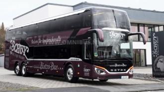 Bus Double Decker Setra S531 DT Berdesain Mewah Jadi Kado Ultah Perusahaan ke-40