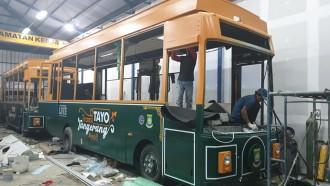 Berkelir Hijau, Bus Imut 'TAYO Tangerang' Siap Beroperasi