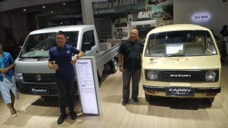 Suzuki ST20 'Truntung' Tahun 1981 Koleksi Warga Garut Jadi Pemenang Kontes Legenda Carry