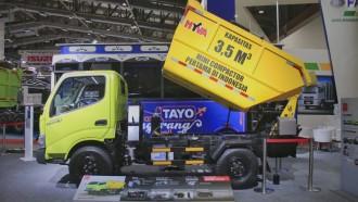 Truk 4 Ban Ini Jadi Mini Compactor Pertama di Indonesia, Chassisnya Pakai Dutro.