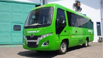 GIIAS 2019: Hino Pamerkan Microbus Dutro 110 SDBL Berkaroseri Jetbus Jumbo Adi Putro