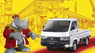 Beli Suzuki New Carry Pick Up, Bisa Langsung Bawa Pulang Motor