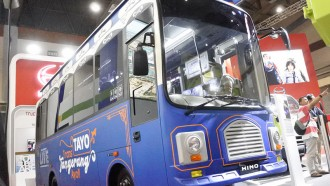 Hino Hadirkan Bus Tayo Di GIICOMVEC 2020, Ini Detailnya