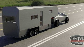 Tesla Cybertruck RV