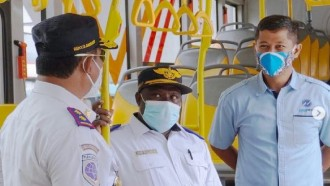 Tinjau Transjakarta, Papua Siapkan Layanan Bus Ramah Disabilitas