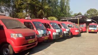 Cegah Penyebaran Corona, Suzuki Semprot Disinfektan ke Ribuan Angkot