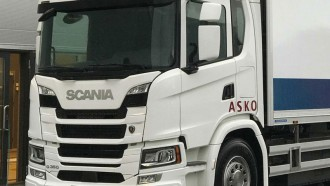 Truk Scania Berpenggerak Hidrogen Fuel Cell Beroperasi di Norwegia