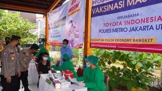 Toyota Indonesia Dukung Percepatan Vaksinasi Masyarakat Indonesia