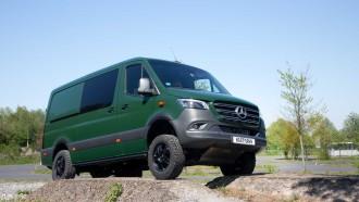 Vansports, Modifikasi Mercedes-Benz Sprinter 4x4 Jadi Lebih Gahar