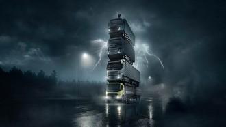 Volvo Rilis Line Up Truknya Ala Game Tetris
