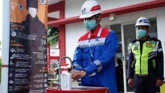 Pertamina Lubricants Putus Penyebaran Corona Dengan Pasang Wastafel