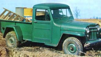Willys Jeep Pick Up, Sohor Karena Malaria