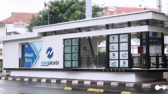 Halte Transjakarta Pasar Baru Selesai Direnovasi, Apa Yang Beda?