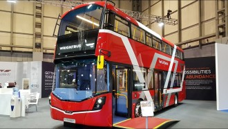 Skotlandia Operasikan Bus Tingkat Bertenaga Hidrogen Pertama di Dunia