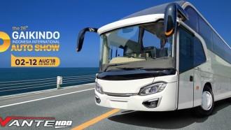 Bus Mewah Avante HDD Siap Tampil Premier di GIIAS 2018