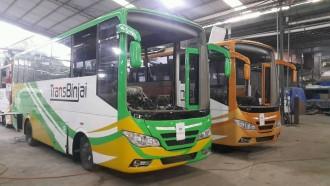 Tata Motors Pasok 10 Unit Bus Medium Tata LP 713 untuk Trans Binjai