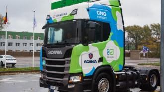Truk Scania CNG Rambah Pasar Lithuania