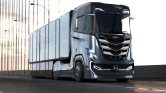 Nikola Pamerkan Tre, Truk Hidrogen Fuel Cell untuk Market Eropa