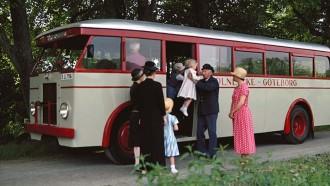 Seri Vintage: Bulldog, Bus Jadul Scania Bermesin Diesel Enam Silinder