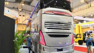 GIIAS 2018: Bus Double Decker Karoseri Laksana Mencuri Perhatian Pengunjung
