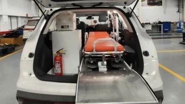 Tak Ada Van SUV  Pun dijadikan Ambulans