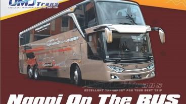 Bus Ultra High Deck Universitas Muhammadiyah Jember Kini Jadi Cafe Berjalan
