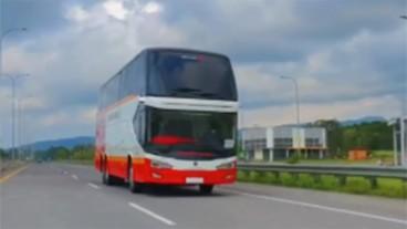 Keuntungan Bus Dari Karoseri Tentrem Yang Menggunakan Kamera Pengganti Cermin Spion