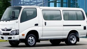 Toyota Dyna Route Van, Mirip Kreasi Karoseri Lokal