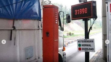 Mulai Atur Truk ODOL, Gerbang Tol Dipasangi Mesin Pemantau Beban