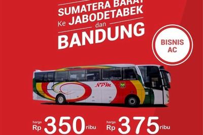 Perang Tarif Bus Jakarta Padang Ini Daftar Harganya Bus And Truck Indonesia