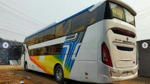 Duh, Ada Bus Laksana Suites Class Pakai Sasis Ashok Leyland