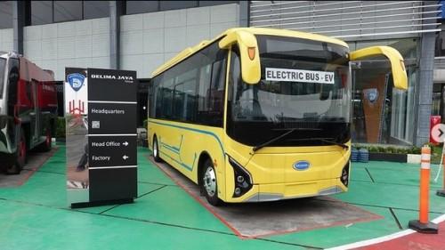 Karoseri Delima Jaya Siap Rakit Bus Listrik Skywell Secara CKD