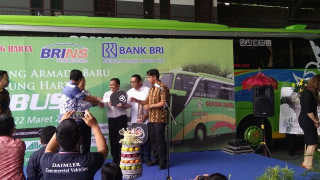 Gunung Harta Remajakan Armada di Tiga Trayek Pulau Jawa dengan Bus Maxi Scania dan Mercedes-Benz