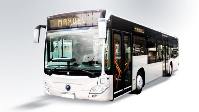 Bus Listrik Jenderal (Purn) Moeldoko Tampil di GIICOMVEC 2018