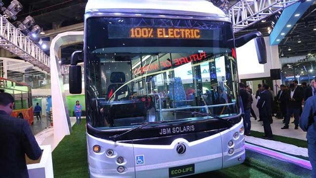 Intip Teknologi JBM Solaris Eco-Life Electric Bus, Bus Listrik India Rasa Eropa
