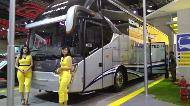 SAN Buka Trayek Baru Bus Malam Pasir Pangarain-Pekanbaru-Tulungagung PP