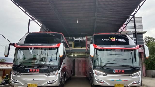 Hadirkan Bus Baru, PO MPM Konsisten Pakai Hino Dan Bodi Laksana