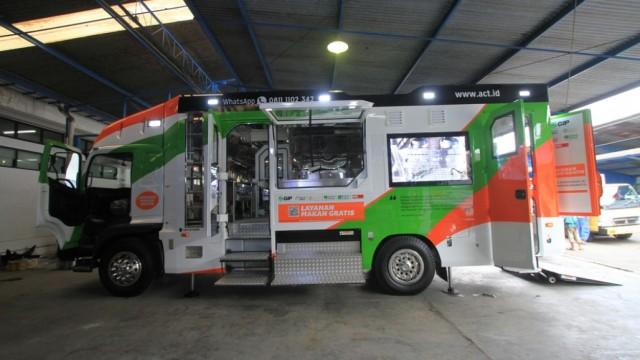 Food Truck ACT Baru, Bisa Dikontrol Pakai Gadget!