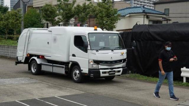 Mitsubishi Fuso Canter Listrik Jadi Basis Truk Sampah Canggih