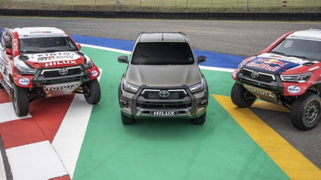 Toyota Gazoo Racing Siapkan Hilux Baru Jadi Jagoan Dakar 2021